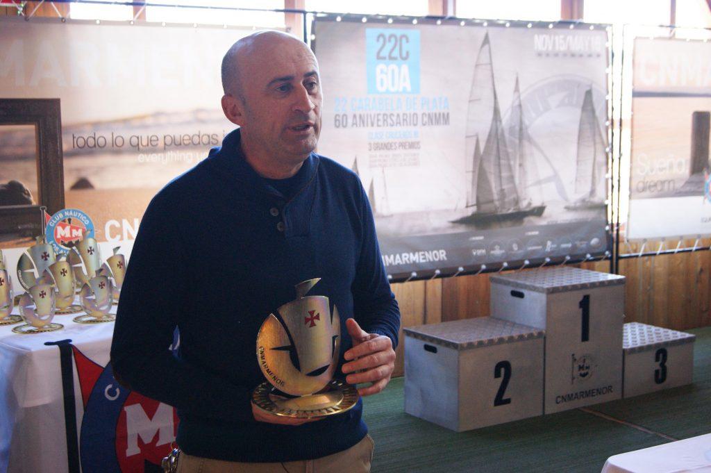 El gran premio DFM Rent a Car-Grupo Disfrimur cierra la 21ª edición de la Carabela de Plata