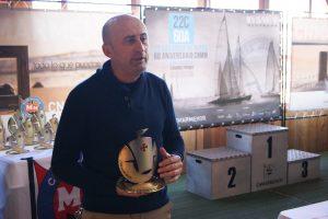Juan Jesús Sánchez, presidente del Grupo Disfrimur en el CN Mar Menor.