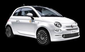 El Fiat 500, un clásico entre los clientes de DFM Rent a Car para escapadas de verano.