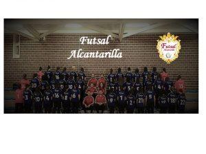 El equipo al completo del Futsal Alcantarilla, que patrocinamos desde DFM Rent a Car
