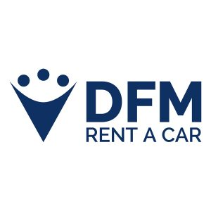 Logo anterior de DFM Rent a Car.