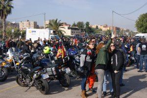 Cerca de 5.000 moteros participaron en la 22ª edición de la ruta por la vida.