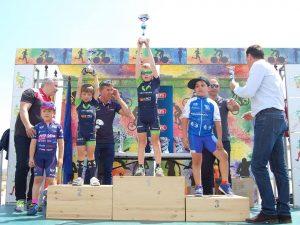 Más de cien jóvenes ciclistas murcianos compotieron en la segunda prueba del Valverde Team