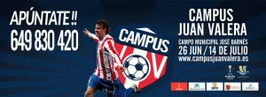 Campus Juan Valera, del que somos patrocinadores desde DFM Rent a Car.