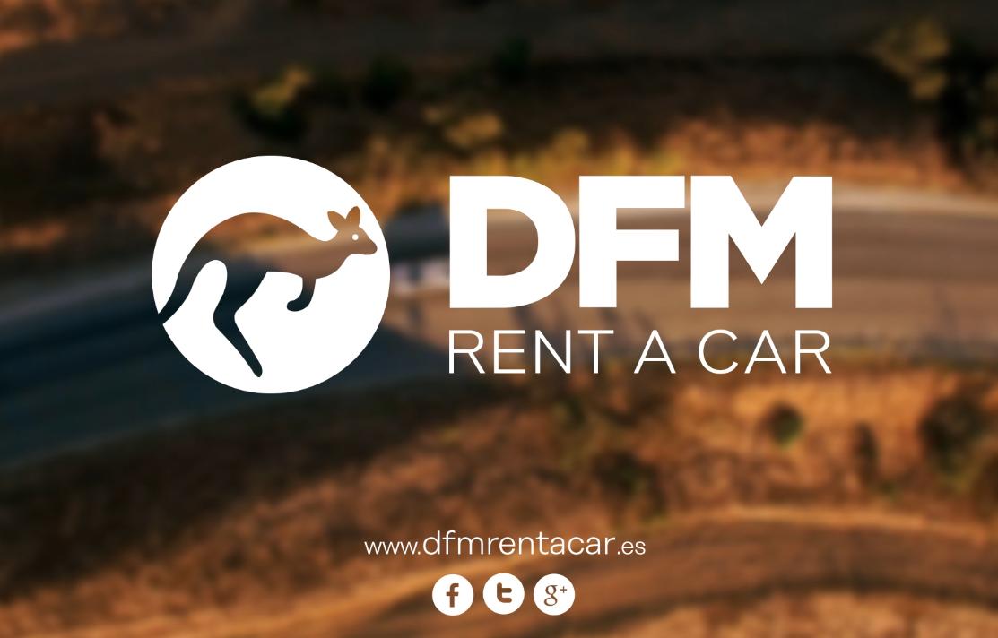 El alquiler de furgonetas y vehículos, actividad principal de la empresa española DFM Rent a Car.