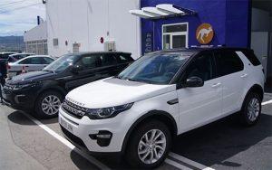Land Rover Discovery y Evoque, dos todoterreno premium que alquila DFM Rent a Car en Murcia