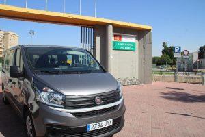 Una Fiat Ducato de DFM Rent a Car, un gran turismo de alquiler de esta empresa murciana.