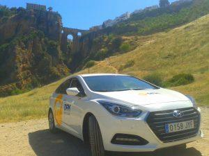 Ronda, destino elegido por la familia ganadora del sorteo de DFM Rent a Car junto a La Opinión de Murcia.