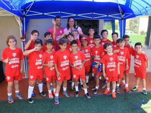 La primera edición del Campus Juan Valera cuenta con cerca de 40 niños inscritos.