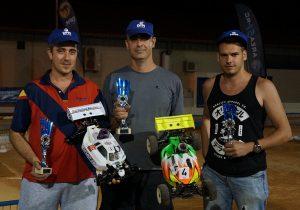 Ganadores de la prueba del circuito de coches de radiocontrol que patrocinamos desde DFM Rent a Car