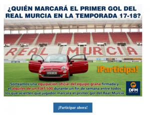 Juego online desarrollado por La Opinión de Murcia y que patrocinamos desde DFM Rent a Car.
