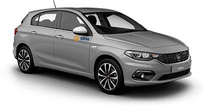 ¿Buscas alquiler de coches en Murcia? Apuesta por la flota de DFM Rent a Car, como éste Fiat Tipo.