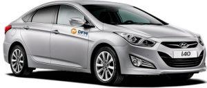 El Hyundai i40, un coche de alquiler perfecto para largos trayectos. DFM Rent a Car, tu mejor opción en el alquiler de coches.