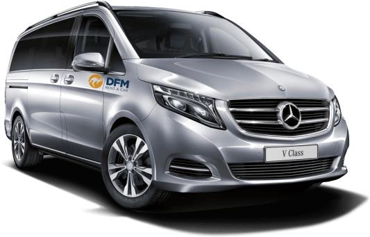 El alquiler de una furgoneta de 9 plazas de DFM Rent a Car es la mejor opcion para compartir la Navidad.