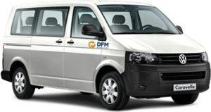 Recurre al alquiler de una furgoneta de 9 plazas de DFM Rent a Car . ¡Garantizamos el mejor precio!