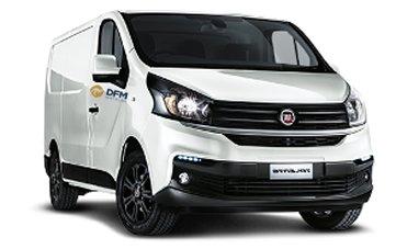 La Fiat Talento de 6m3, una furgoneta de alquiler cómoda y confortable, perfecta para trasladar todo tipo de mercancías.