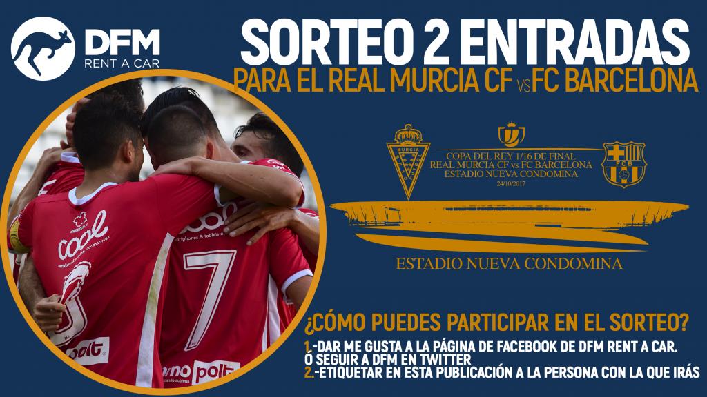 DFM te lleva al Real Murcia-FC Barcelona