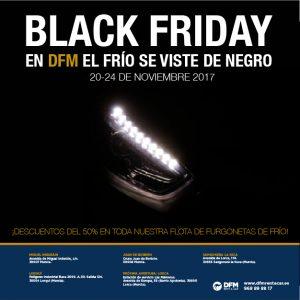Alquiler de furgonetas frigoríficas al mejor precio en el Black Friday de DFM Rent a Car.