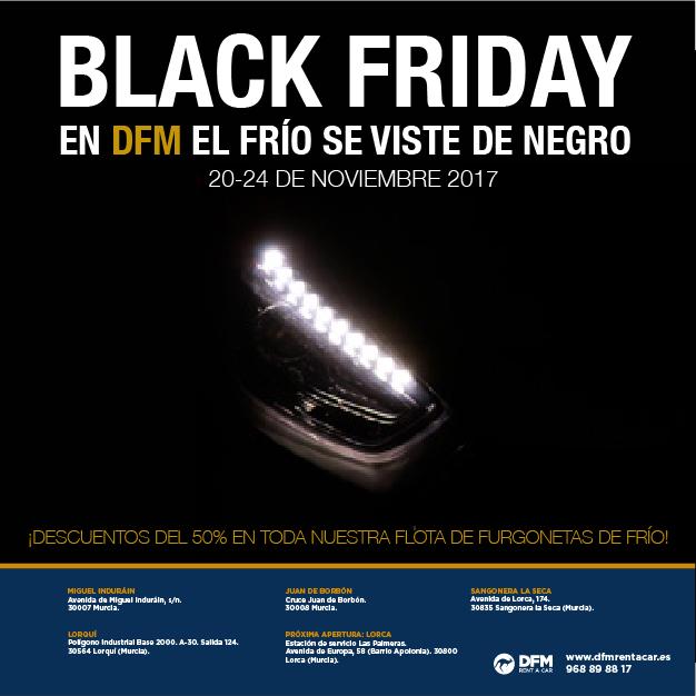 ¡BLACK FRIDAY! -50% en alquiler de furgonetas frigoríficas