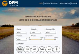 DFM Ocasión, vehículos de segunda mano de confianza del Grupo DFM en Murcia.