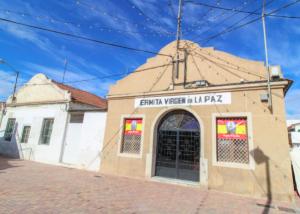 Ermita de La Paz, situada en Alcantarilla.