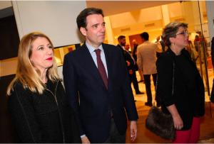 Isabel Sánchez Serrano, consejera delegada de DFM Rent a Car, en la gala de los X Premios Web de La Verdad de Murcia. / Foto: JCCM.