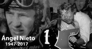 Angel Nieto, mito del deporte español al que se homenajeara en Murcia el proximo mes de junio de 2018 y en el que no podiamos faltar desde DFM Rent a Car.