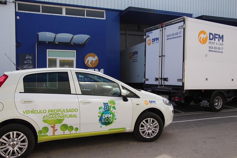 DFM Rent a Car apuesta por una flota sostenible