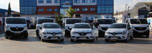 DFM Rent a Car aumenta su flota con furgonetas ligeras y turismos de Herrero y López S.A.