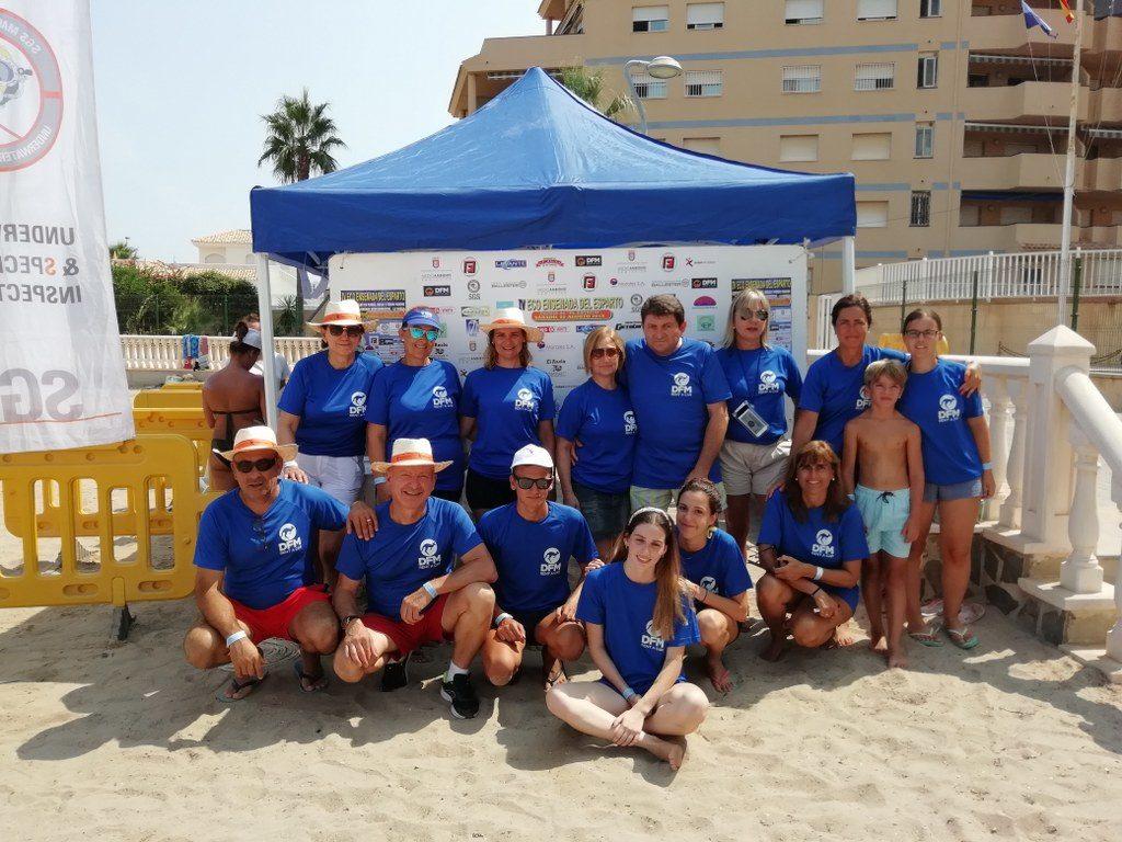 DFM Rent a Car apuesta por unas playas más limpias en la Región de Murcia