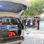 Policía local de águilas, vehículos DFM rent a car