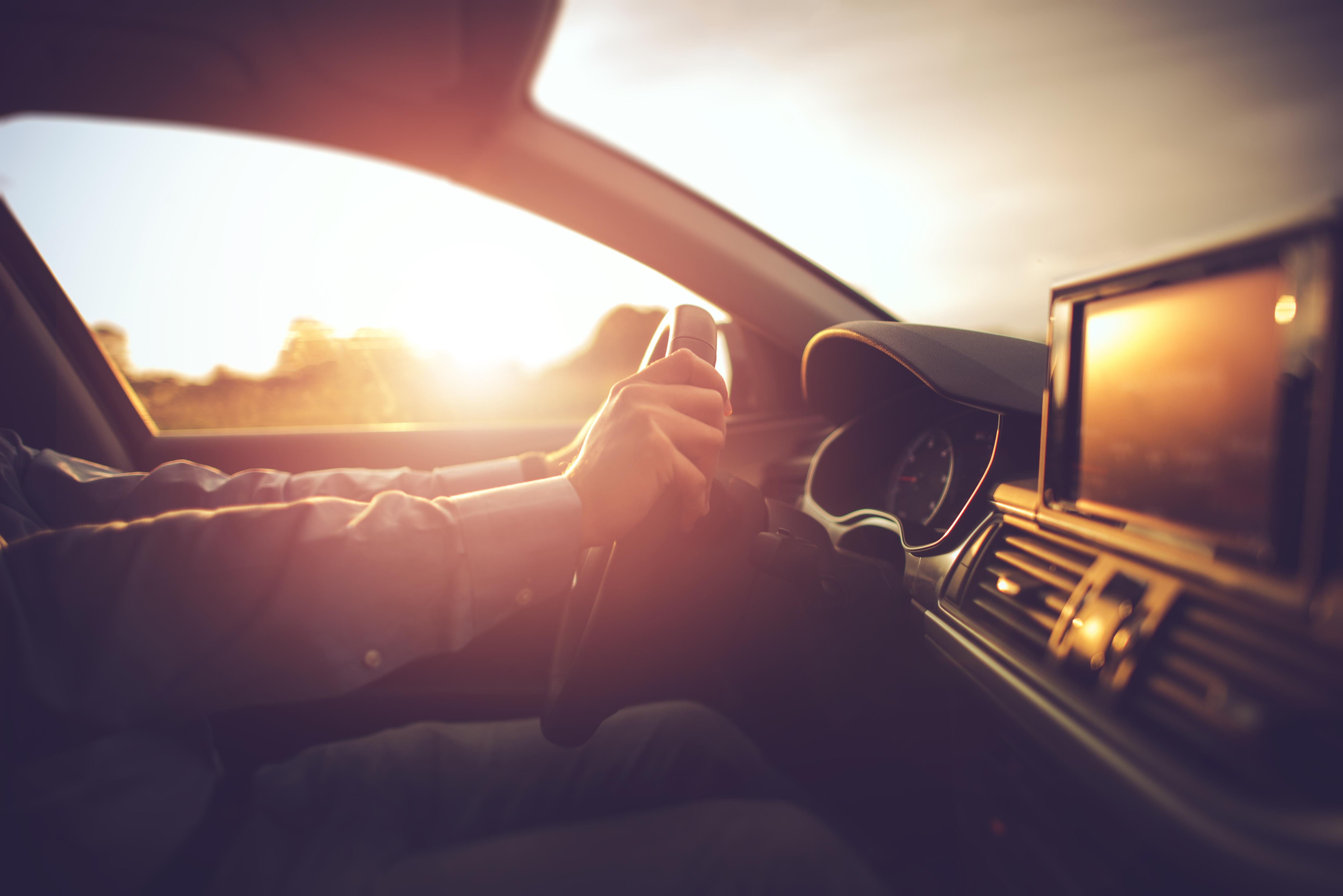 Conducir con sol