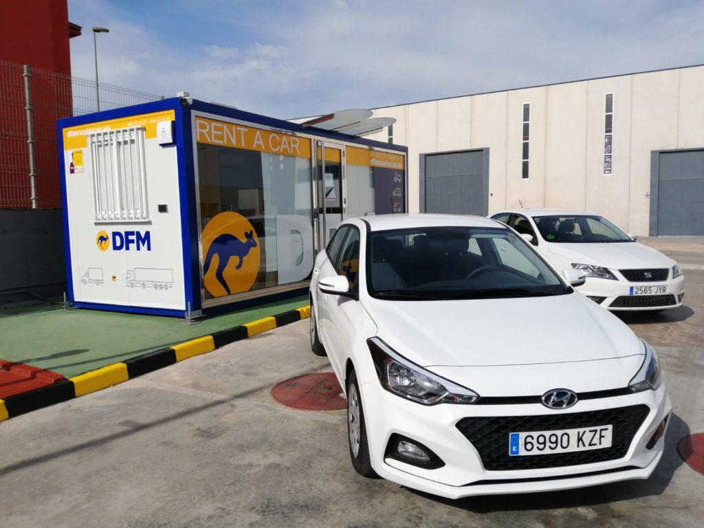 DFM Rent a Car llega a Molina de Segura