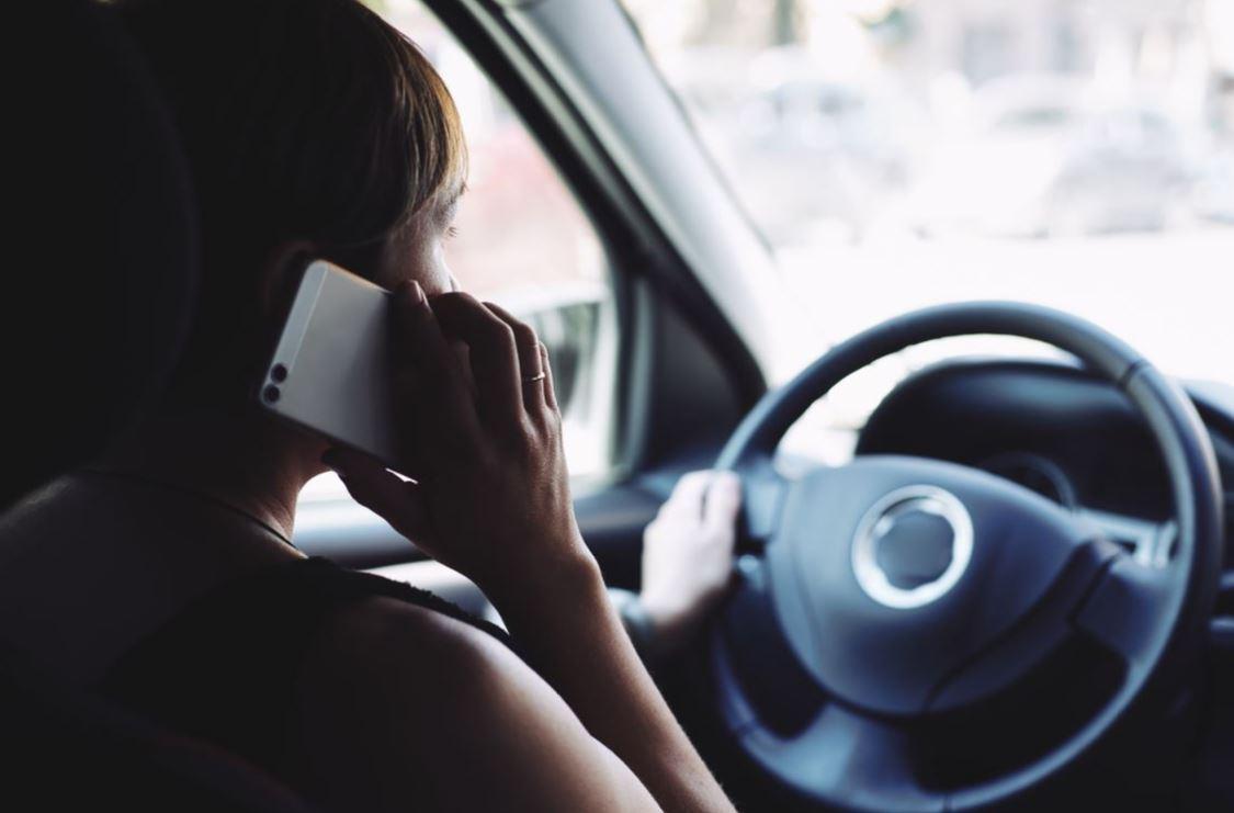 conducir y móvil