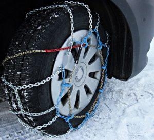 cadenas coche nieve