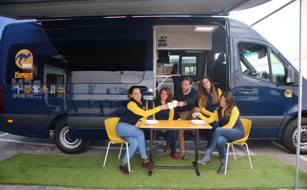 Ventajas de viajar en furgoneta camperizada