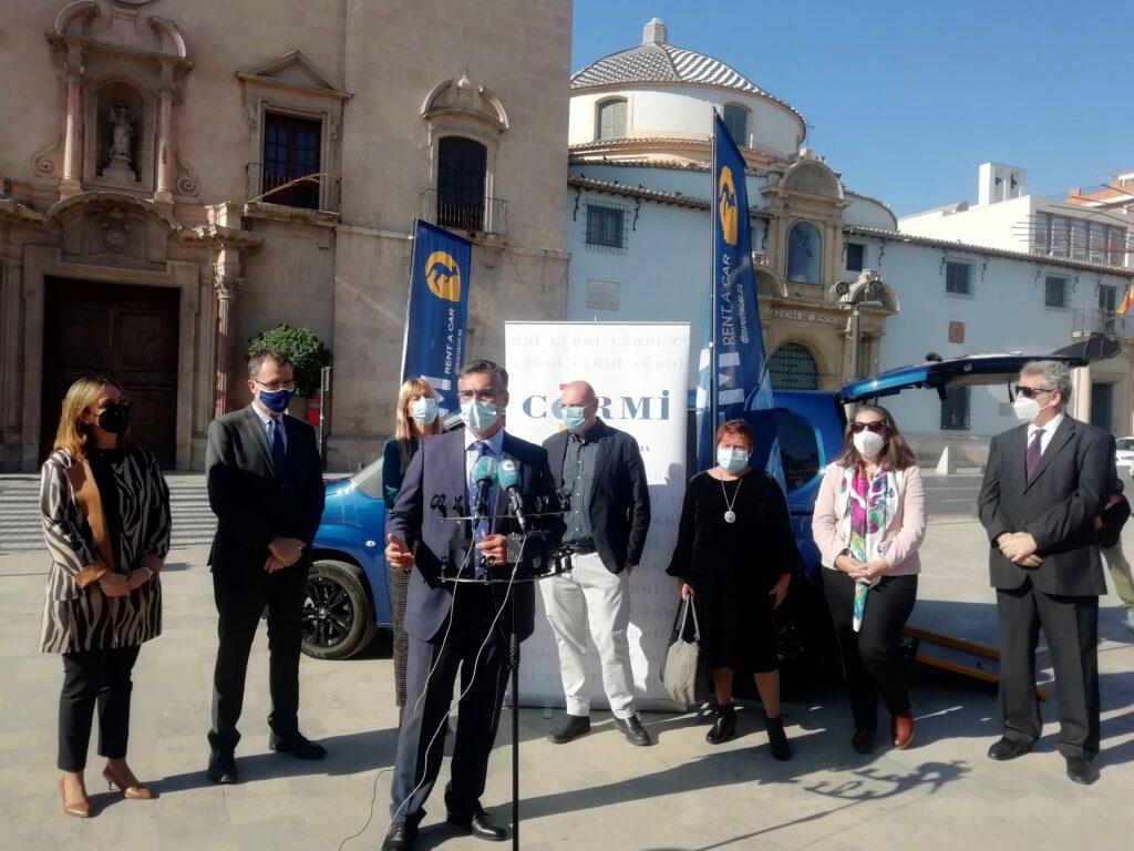 DFM Rent a Car apuesta por el transporte de personas con movilidad reducida