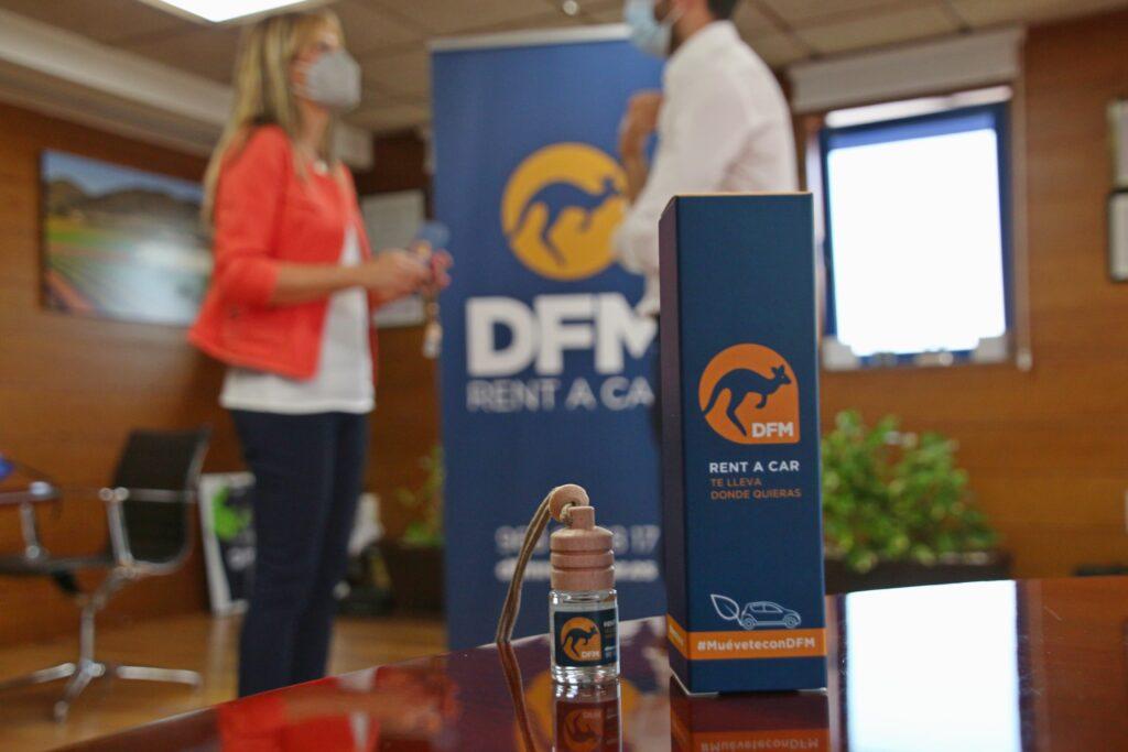 El perfume DFM, una fragancia que recoge los aromas cítricos típicos del Levante español