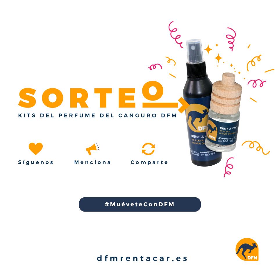 Bases legales sorteo Kit Perfume Canguro DFM