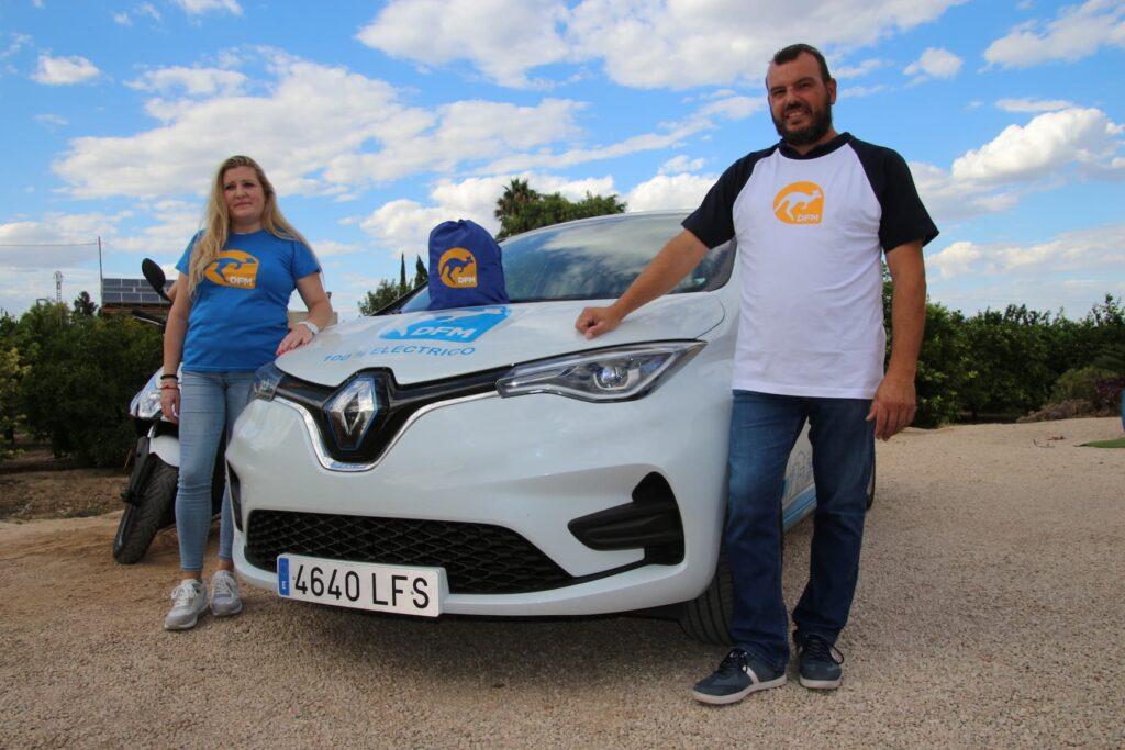 DFM Rent a Car se vuelca en la búsqueda del canguro perdido en Murcia